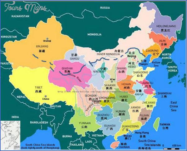 Great Wall Of China On China Map.Great Wall China Map Toursmaps Com