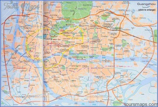 guangzhou China travel map pdf