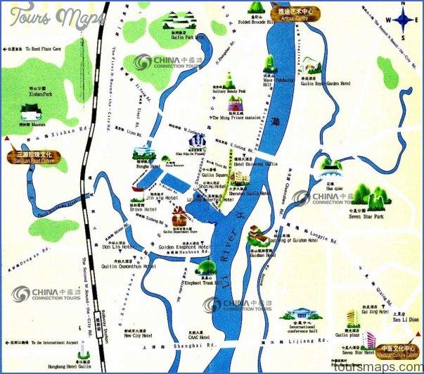 guilin tourist map b Insight travel map China
