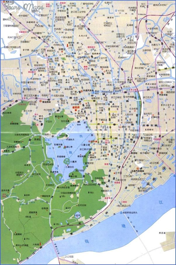 hangzhou map 15 Hangzhou Map