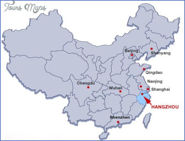 hangzhou map 9 Hangzhou Map