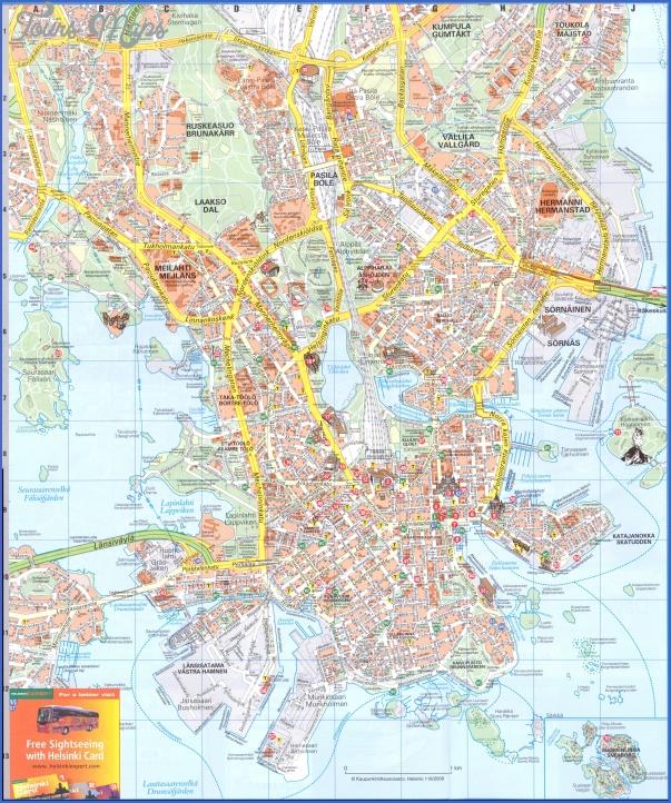 helsinki 2 map Helsinki Map