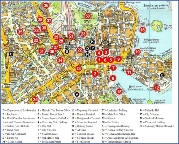 helsinkicitymap Helsinki Map