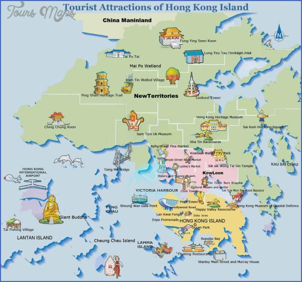 hong kong map 2 Hong Kong Map