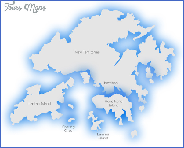 hong kong map 9 1 Hong Kong Map
