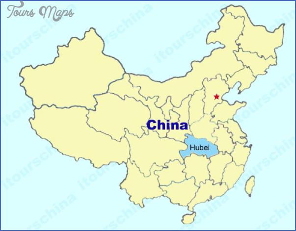 hubei map 11 Hubei  Map