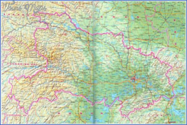 hubei map 2 Hubei  Map