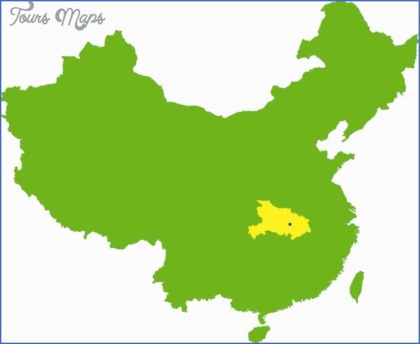 hubei map 5 Hubei  Map