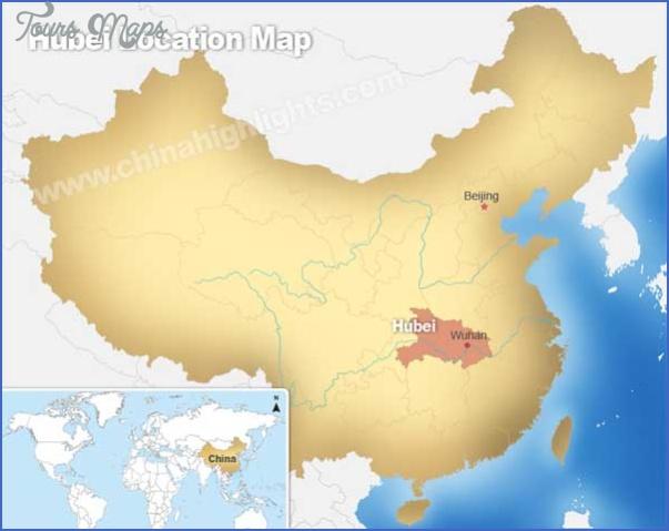 hubei map 6 Hubei  Map
