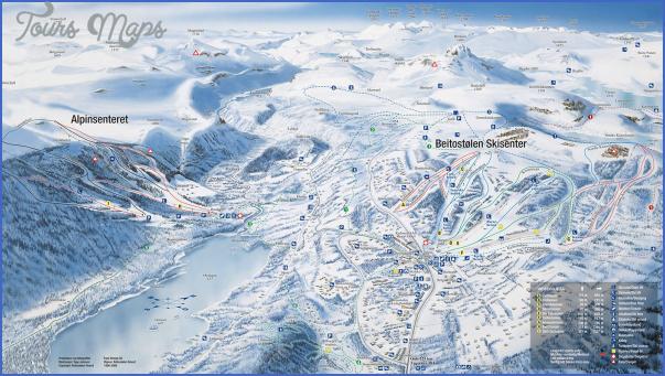 jotunheim norway map 0 Jotunheim Norway Map