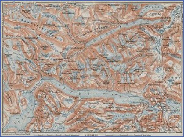 jotunheim norway map 2 Jotunheim Norway Map