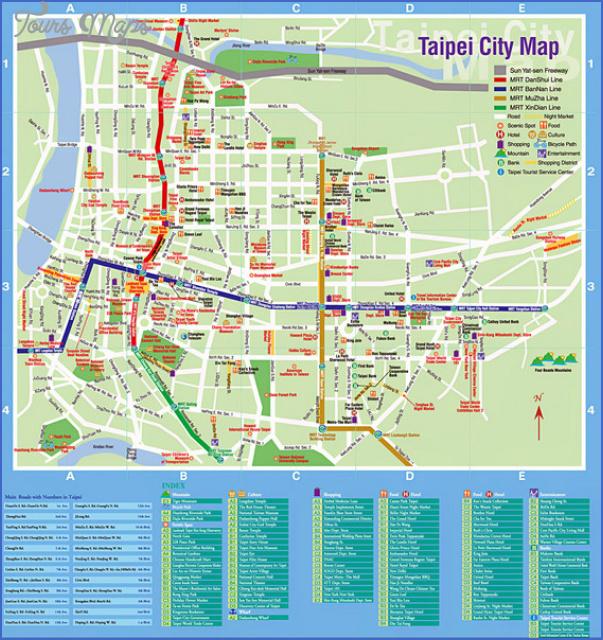 Kaohsiung Map Toursmaps Com
