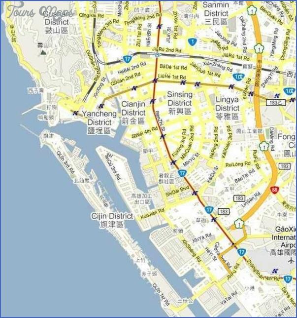 kaohsiung map 30 Kaohsiung Map