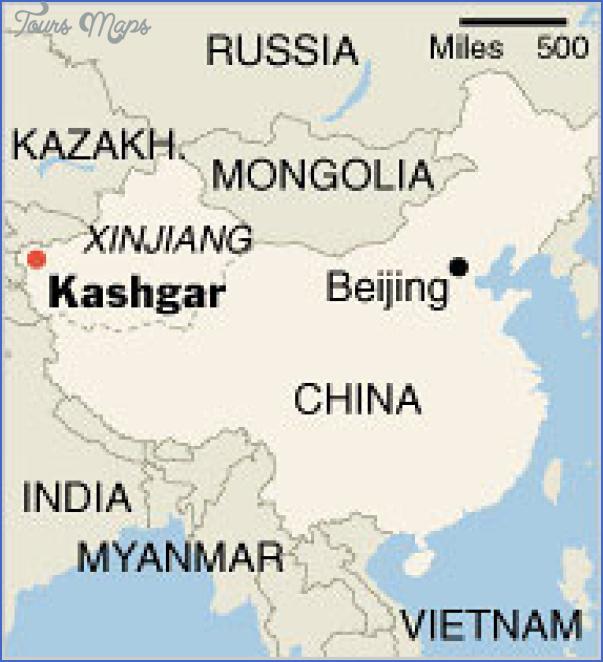 Kashgar Map Toursmaps Com