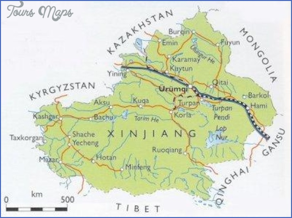 kashgar map 14 Kashgar Map