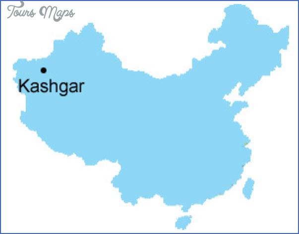 kashgar map 2 Kashgar Map