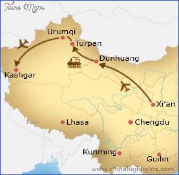 kashgar map 3 Kashgar Map