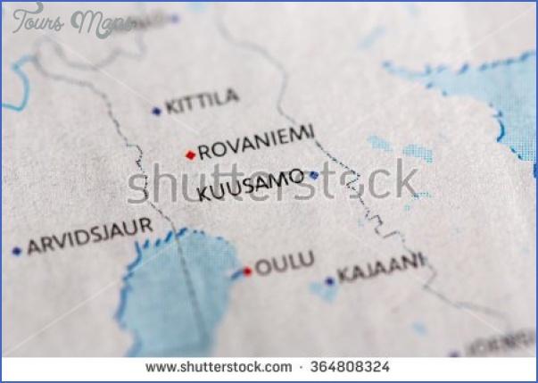 kuusamo finland map 6 Kuusamo Finland Map
