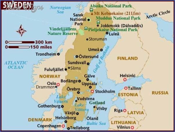 lake siljan sweden map 6 Lake Siljan Sweden Map
