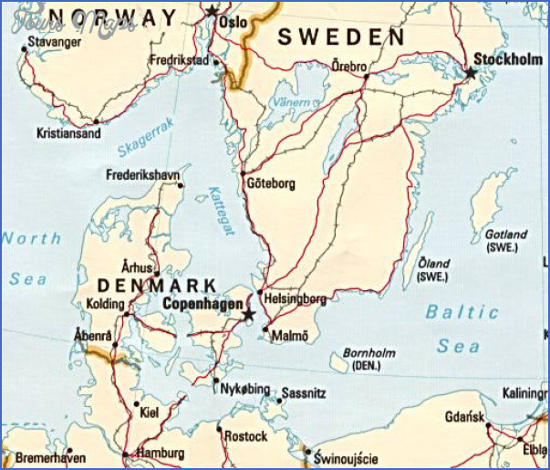 lake vanern sweden map 5 Lake Vanern Sweden Map