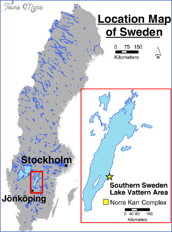 lake vattern sweden map 10 Lake Vattern Sweden Map