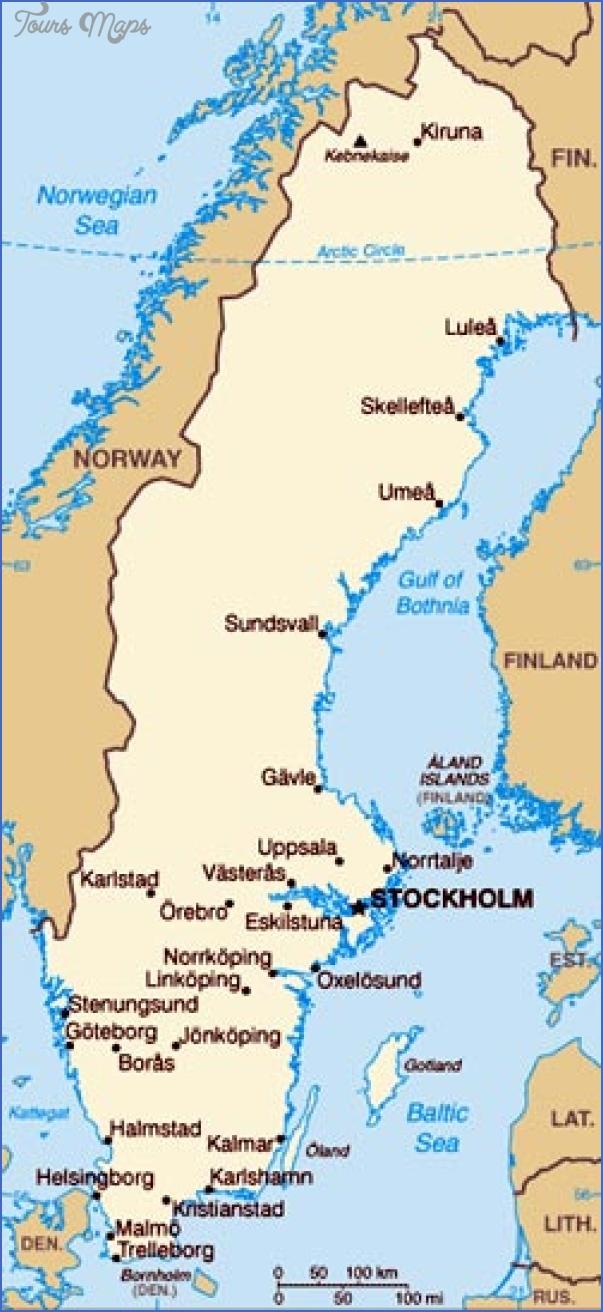 lake vattern sweden map 11 Lake Vattern Sweden Map