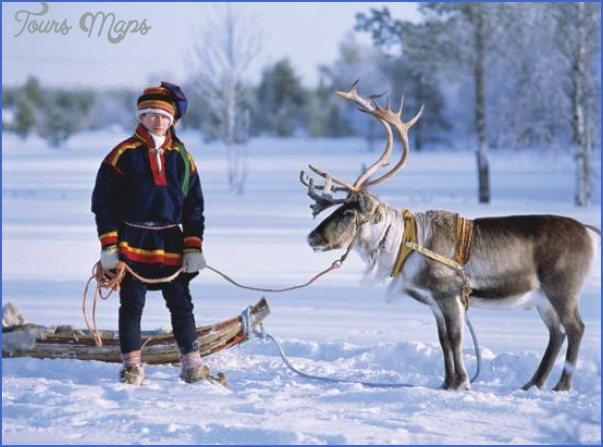 lapps with reindeer northern finland 1 Lapps with reindeer Northern Finland