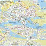 large detailed roads map of stockholm city 150x150 Stockholm Map