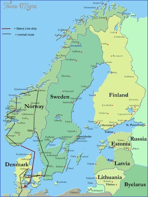 lillehammer norway map 11 Lillehammer Norway Map