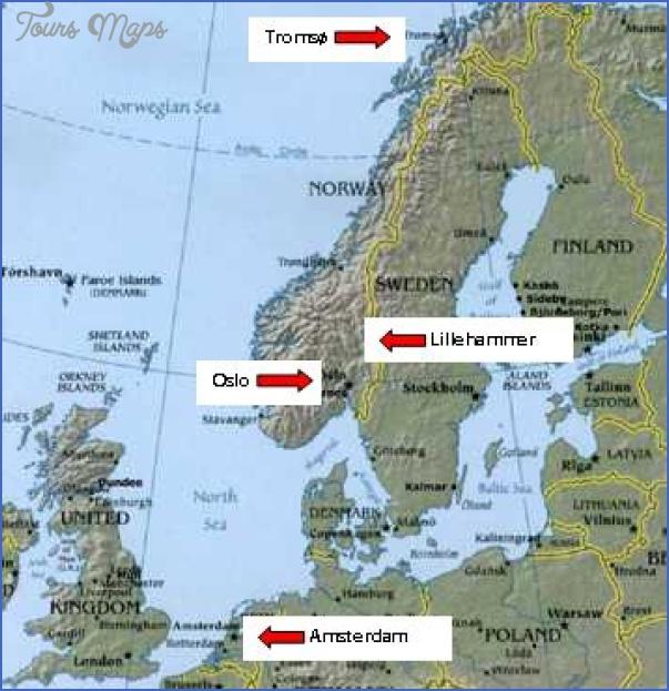 lillehammer norway map 3 Lillehammer Norway Map