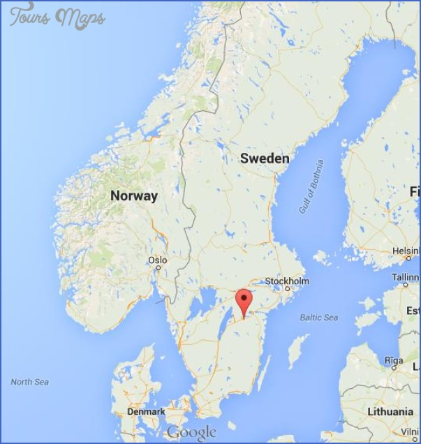Linkoping Sweden Map Map Travel Holiday Vacations - Map sweden denmark bridge