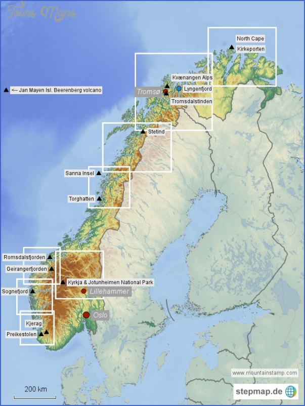 lyngenfjord norway map 11 Lyngenfjord Norway Map