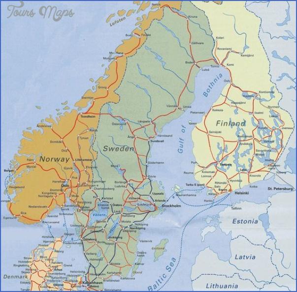 lyngenfjord norway map 9 Lyngenfjord Norway Map