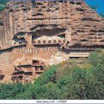 maijishan shiku tianshui suburbs gansu china at65dr 150x150 Grottoes of Maijishan Maijishan Shiku