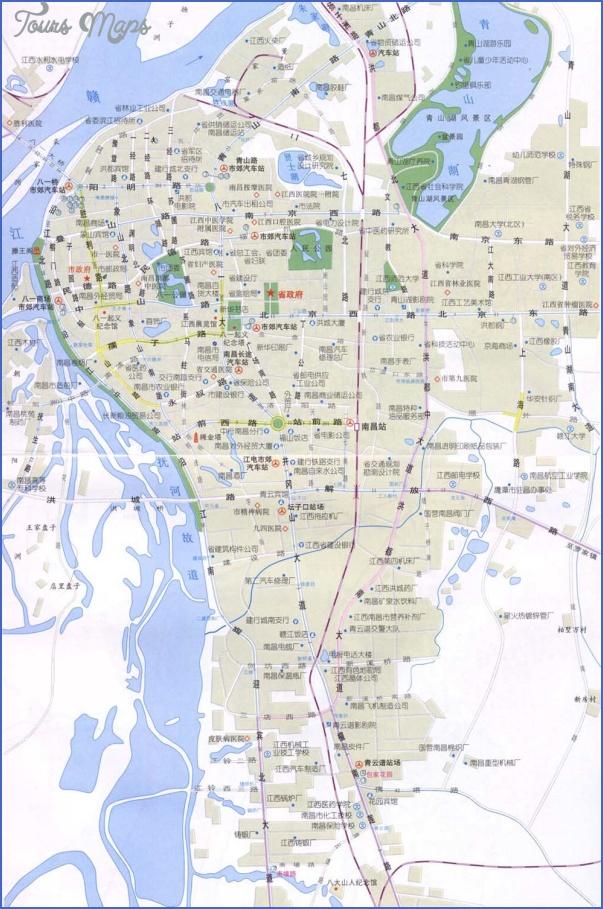 map 1 Nanchang Map