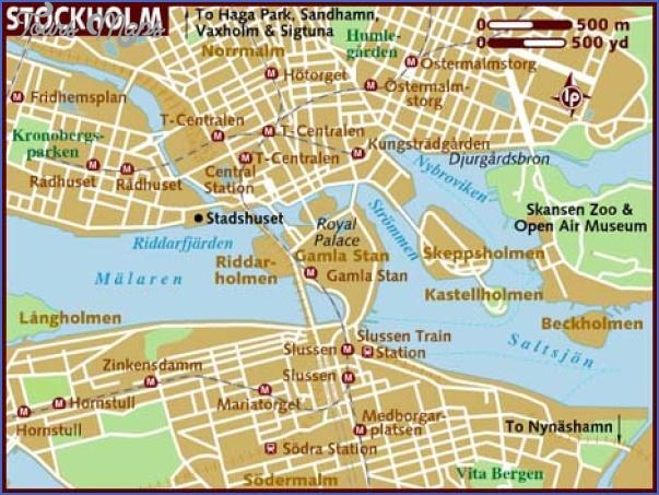 map of stockholm Stockholm Map