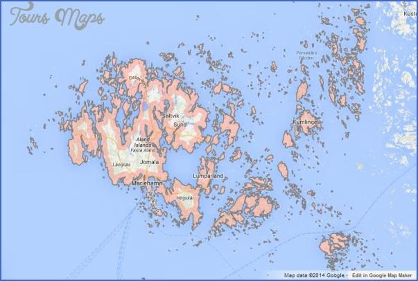 mariehamn aland islands map 3 Mariehamn Aland Islands Map