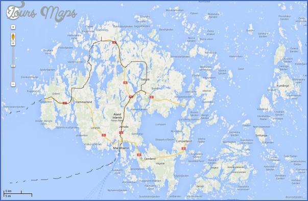 mariehamn aland islands map 5 Mariehamn Aland Islands Map
