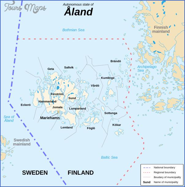 mariehamn aland islands map 6 Mariehamn Aland Islands Map