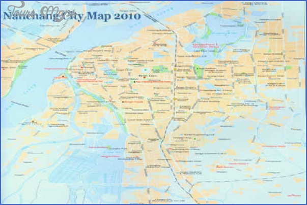 nanchang city map 480 Nanchang Map
