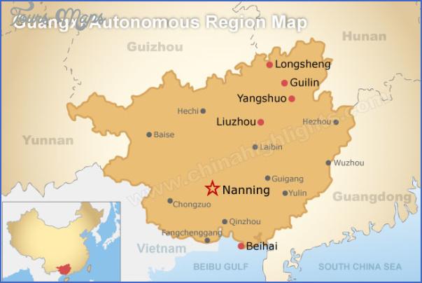 nanning map 2 Nanning Map