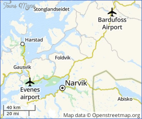 Cheap Flights to Narvik, Norway - Euroflights.info