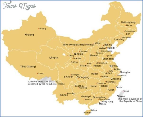 ningxia map 11 Ningxia Map