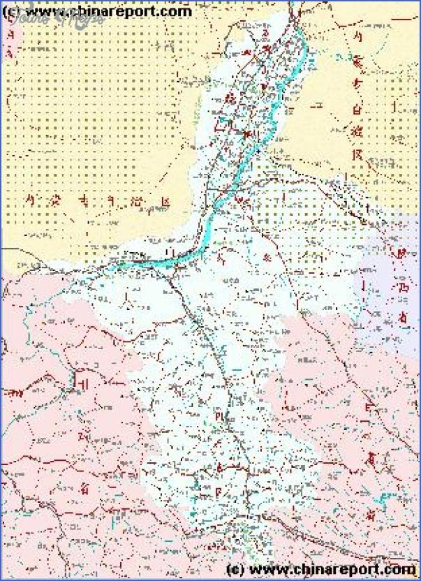 ningxia map 12 Ningxia Map