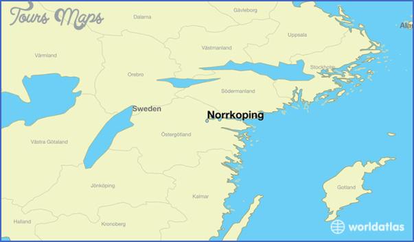 norrkoping sweden map 11 Norrkoping Sweden Map