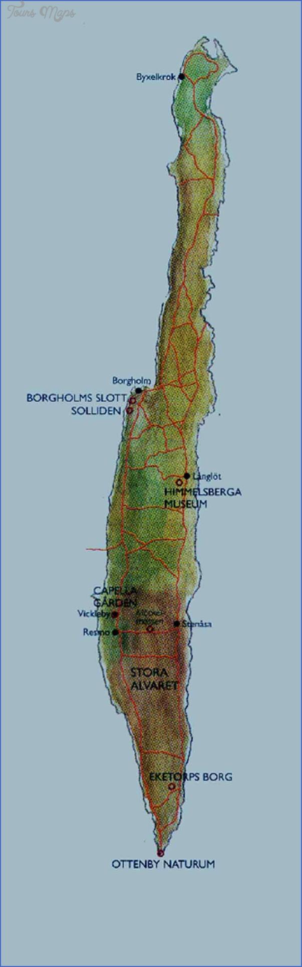 oland sweden map 3 Oland Sweden Map