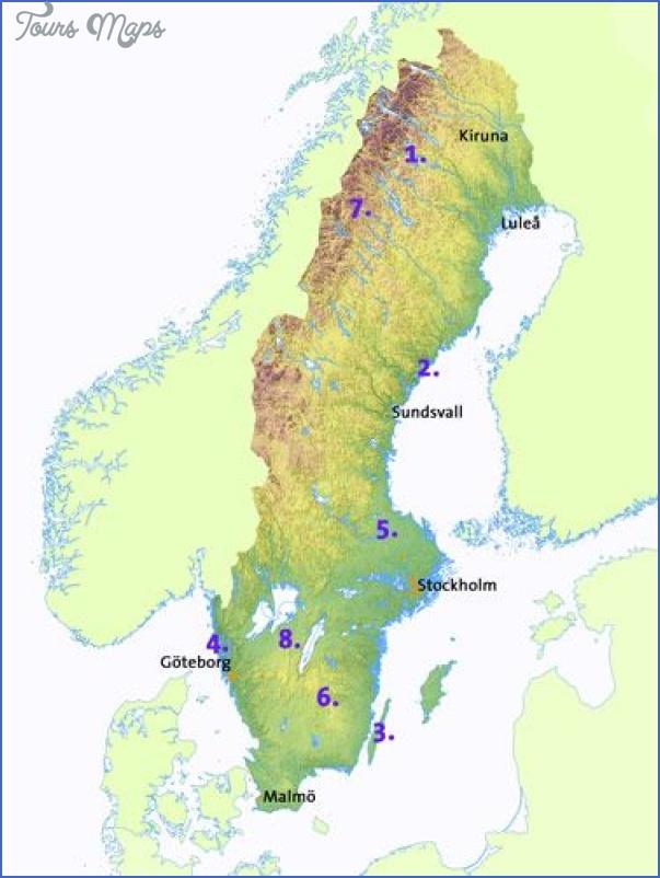 oland sweden map 6 Oland Sweden Map