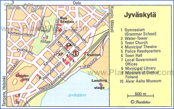 oulu uleaborg finland map 3 Oulu Uleaborg Finland Map
