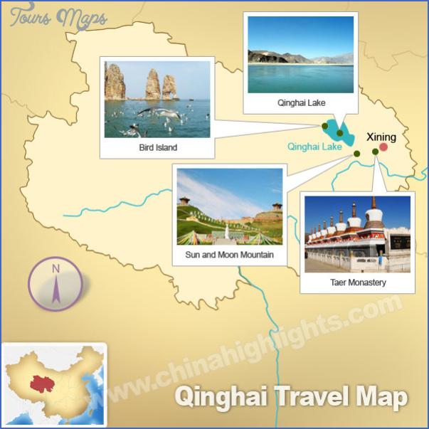 qinghai map 5 Qinghai Map