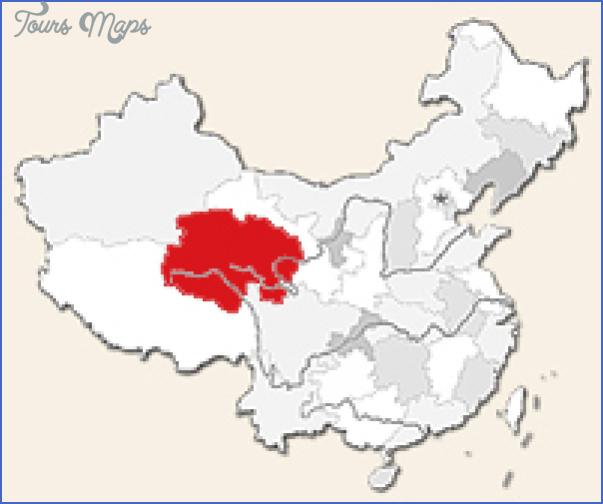 qinghai map 6 Qinghai Map